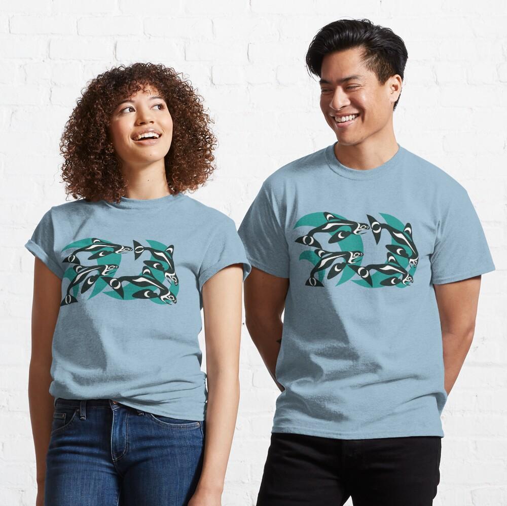 Killer Whale Pod Classic T-Shirt