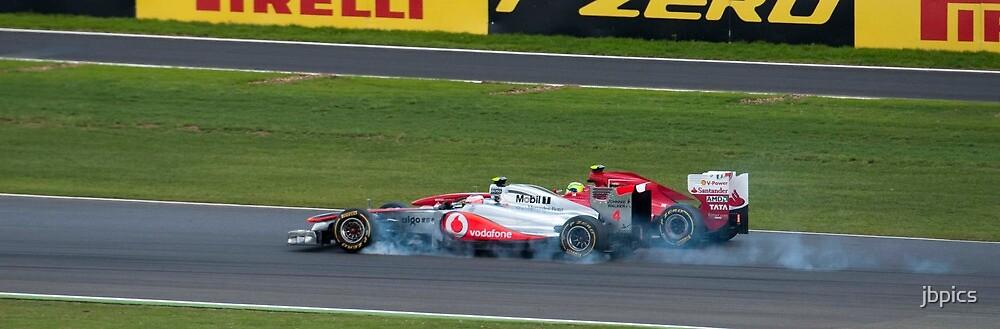 Jenson outbreaks Massa by jbpics