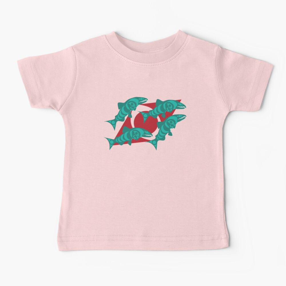 Dog Salmon  Baby T-Shirt