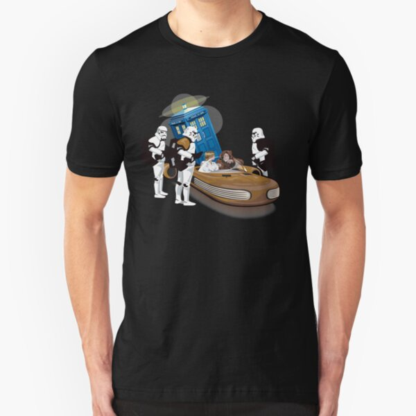 That is not the Tardis you are looking for Slim Fit T-Shirt