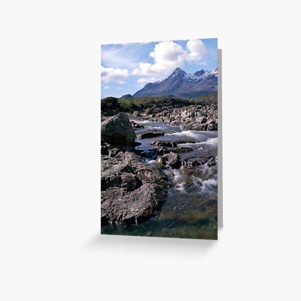 Glen Sligachan, Isle of Skye Greeting Card