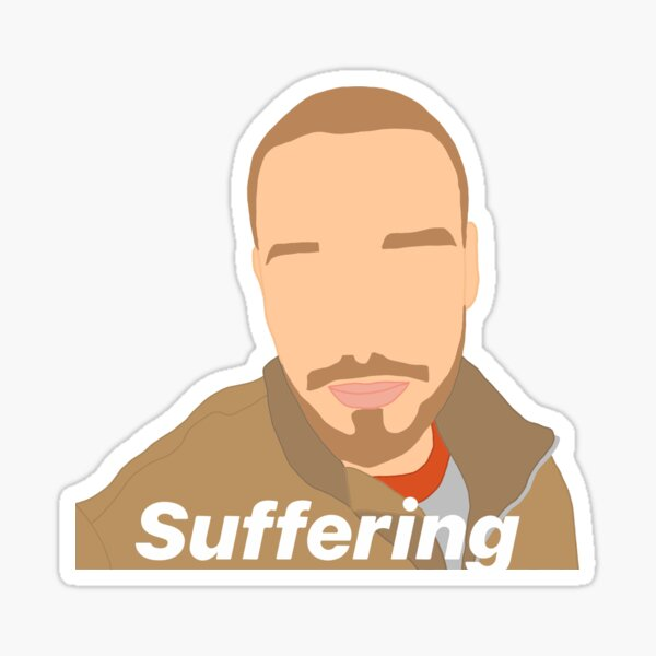 liam payne one direction suffering meme Sticker