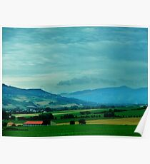 France Countryside Poster