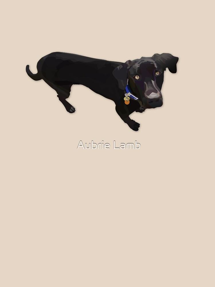 Black Lab Mix by Aubb