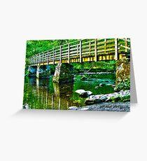 lake placid HDR Greeting Card