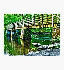 lake placid HDR Photographic Print