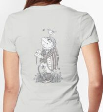 The Frog Footman (T-shirt) Womens Fitted T-Shirt