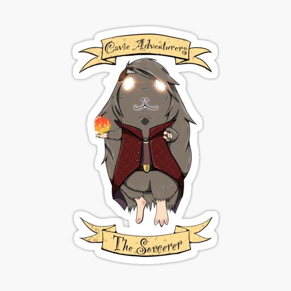 Cavie Adventurers - The Sorcerer Sticker
