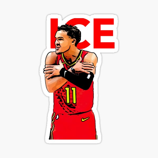 Trae Young: ICE Sticker