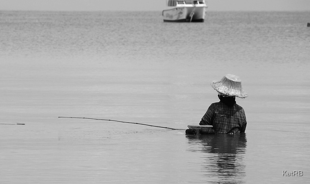 Fisherman by KatRB