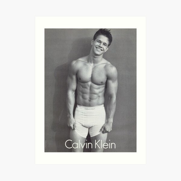 Marky Mark <3 Art Print
