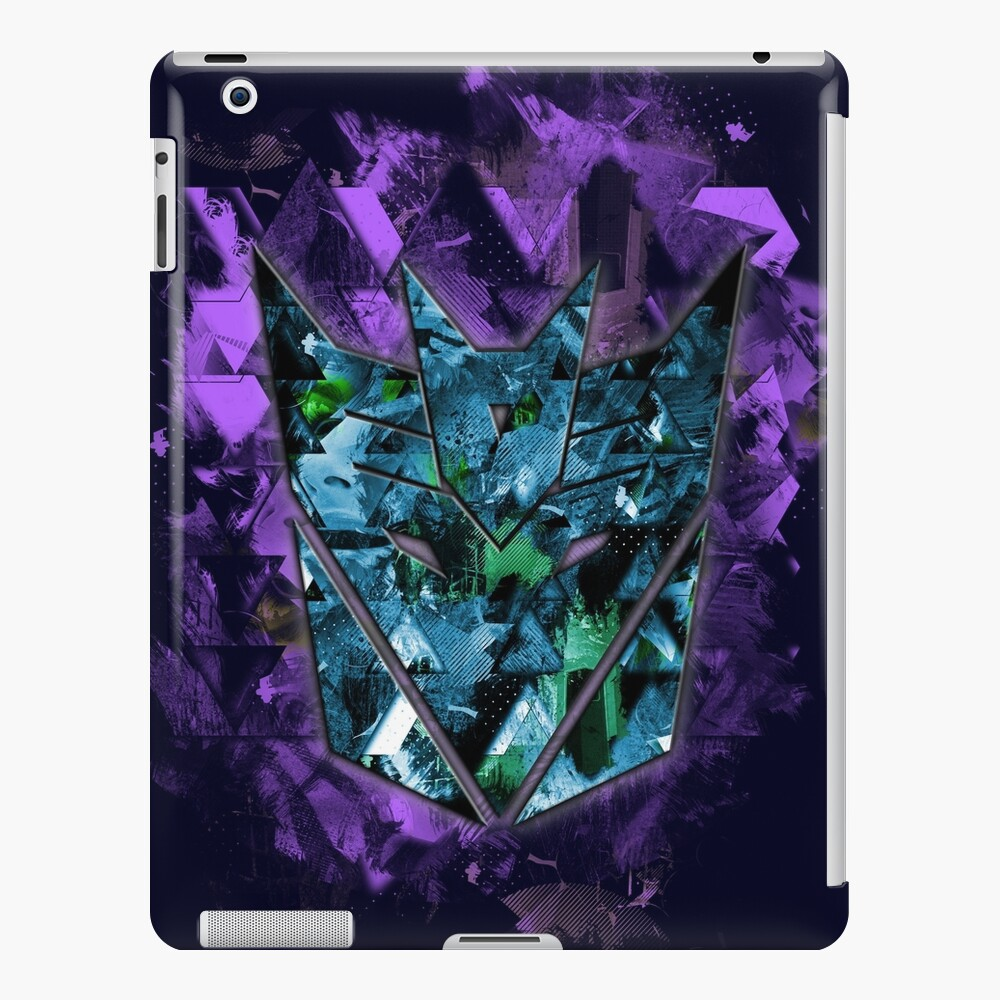 Decepticons Abstractness iPad Case & Skin