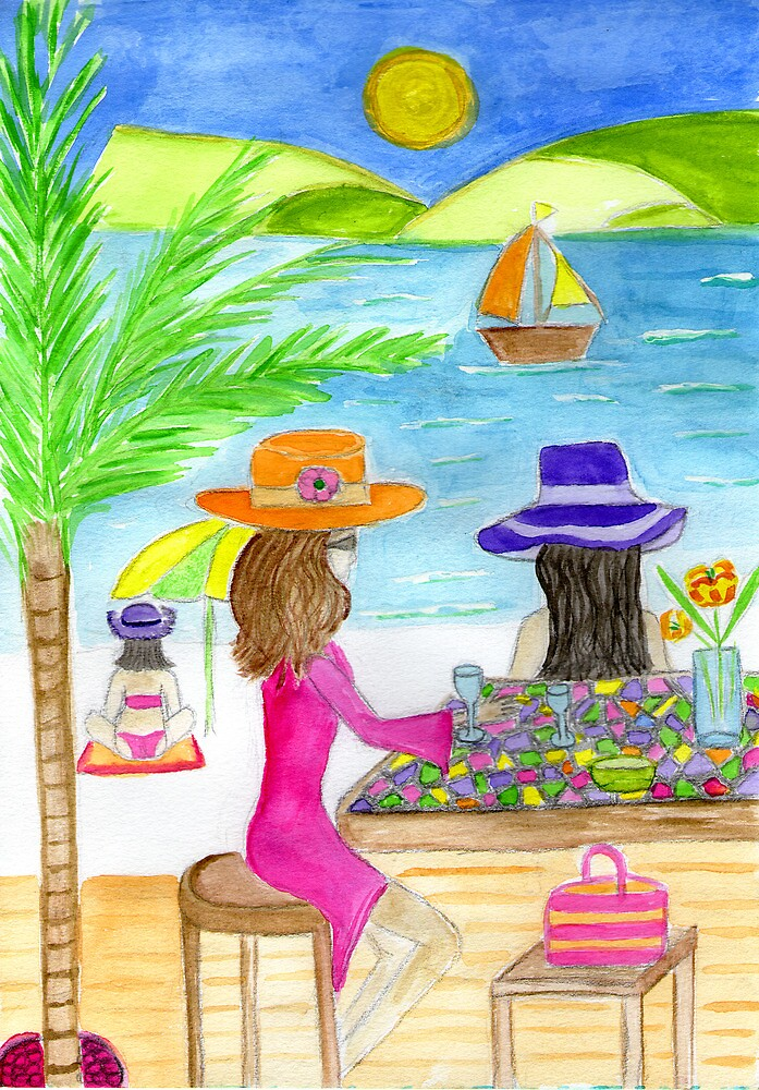 beach bar by Hbeth