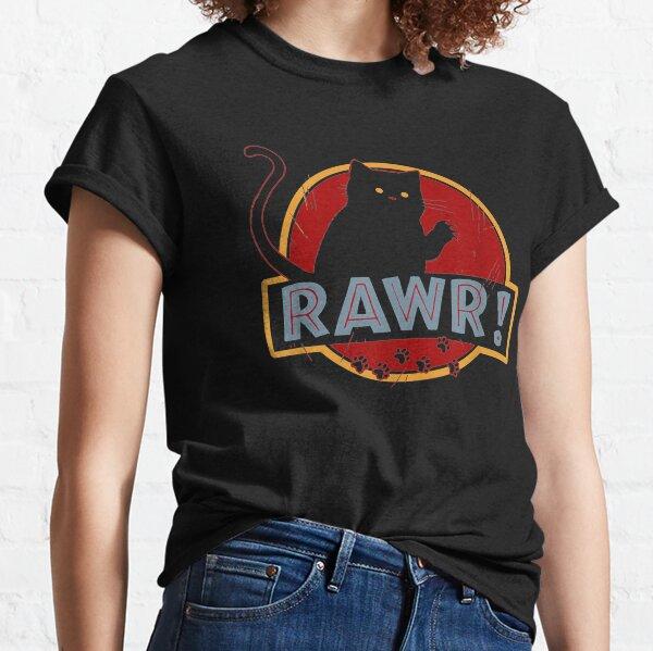 Rawr! Jurassic Cat Classic T-Shirt