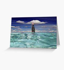 Sky Dive! Greeting Card