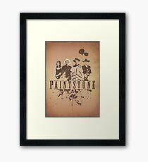 Paintstone Framed Print