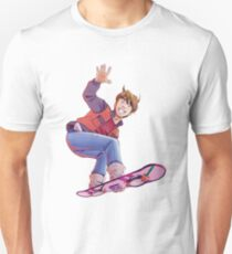 Mcfly on Hoverboard Unisex T-Shirt