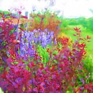 Fanciful Fence Row by Lisa Sall