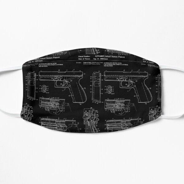 Handgun Patent Filled by Gaston Glock Pro Gun Flat Mask
