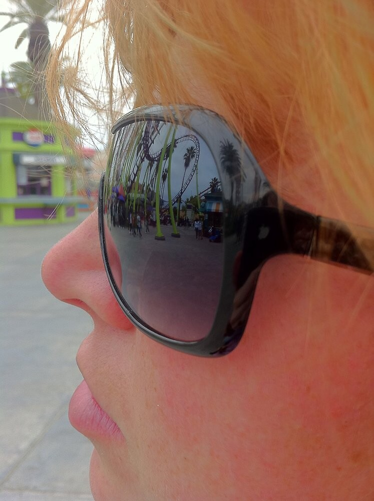 Knotts Berry Farm - in reflection... by Arkmage