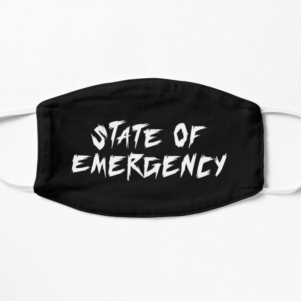 État d'urgence Hip Hop Rap Masque sans plis