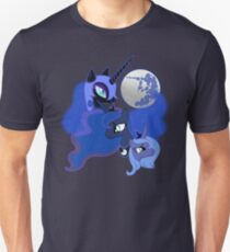 Three Luna Moon Unisex T-Shirt
