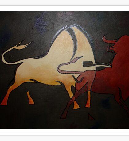 Bullfight 1 Sticker