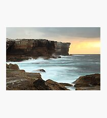 Edge of a continent Photographic Print