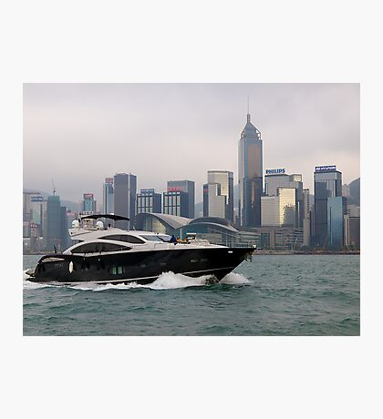 Hong Kong Harbour, taking the sea air, 2012. Photographic Print