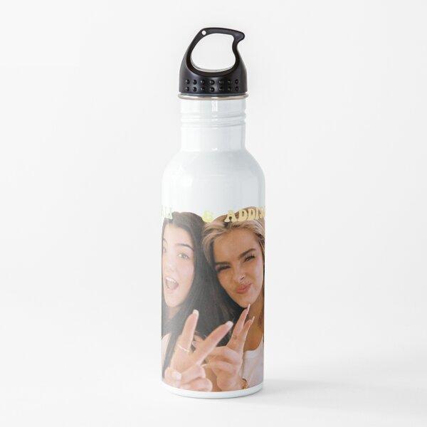 Addison y charli tiktok Botella de agua
