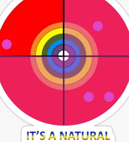 Gaydar - A Natural Instinct Sticker