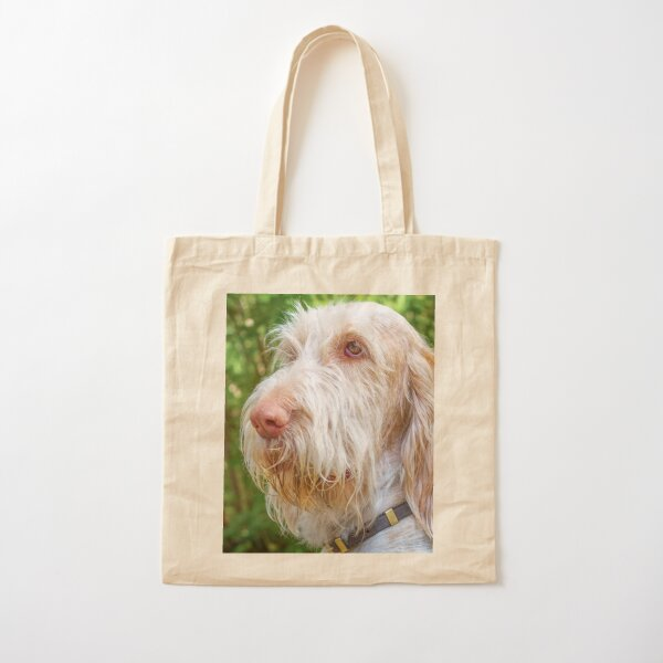 Thinking thoughts Spinone Cotton Tote Bag
