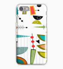 Mid-century Modern Abstract #55 iPhone Case/Skin