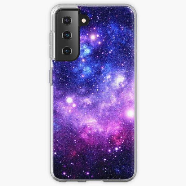 Purple Blue Galaxy Nebula Samsung Galaxy Soft Case