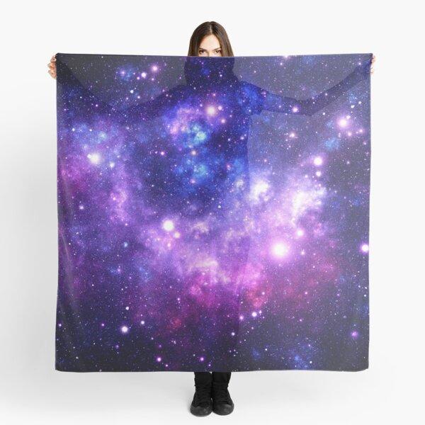 Purple Blue Galaxy Nebula Scarf