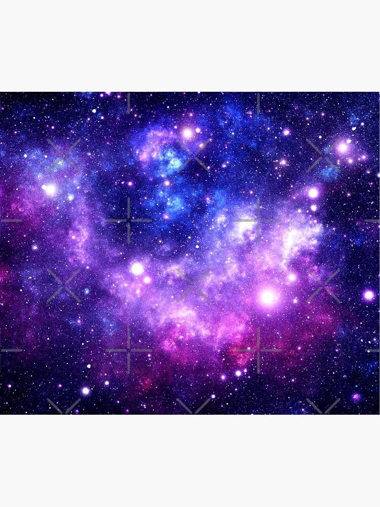 Purple Blue Galaxy Nebula by 2sweetsDesign