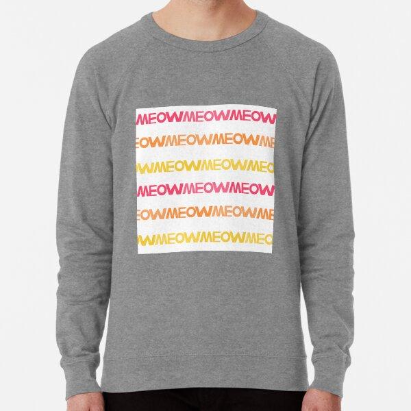 Meow Stripes (set 1) Lightweight Sweatshirt