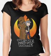 Home at Last Women's Fitted Scoop T-Shirt