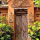 The door - Bali by Karen Stackpole