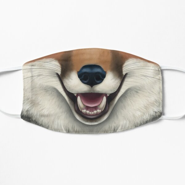 Red Fox Face Mask