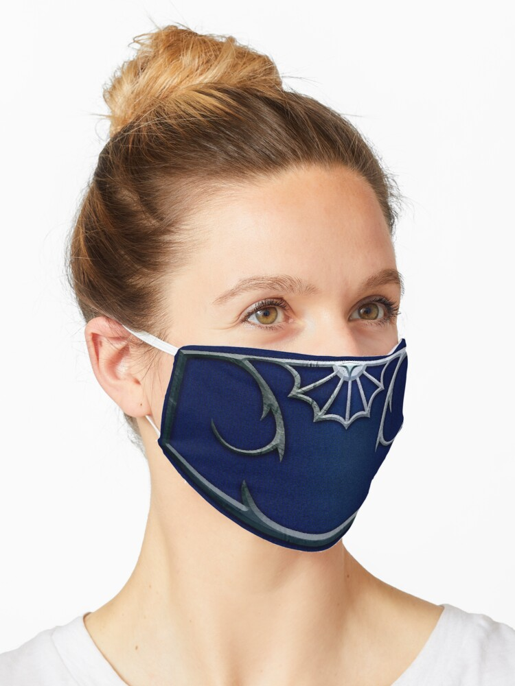 Kitana Mortal Kombat Inspired Face Mask Mask By Godsibi Redbubble
