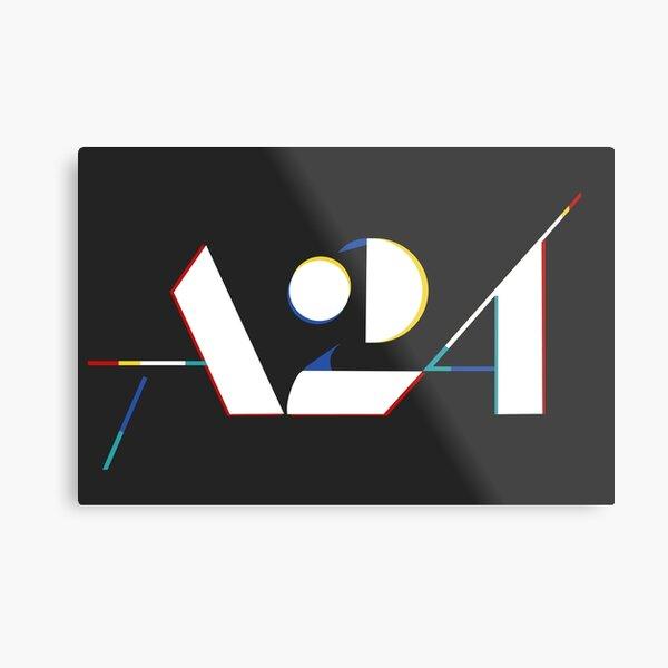A24 Logo 3D Metal Print