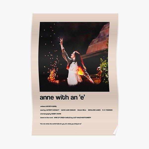 Anne avec un «E» - Couverture minimaliste alternative Poster