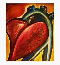The heart of nursing Photographic Print