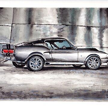 Eleanor - Shelby GT500 by KerovinBlack