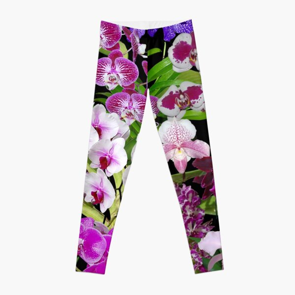 Orchids - Cool and Restful Colors! Leggings