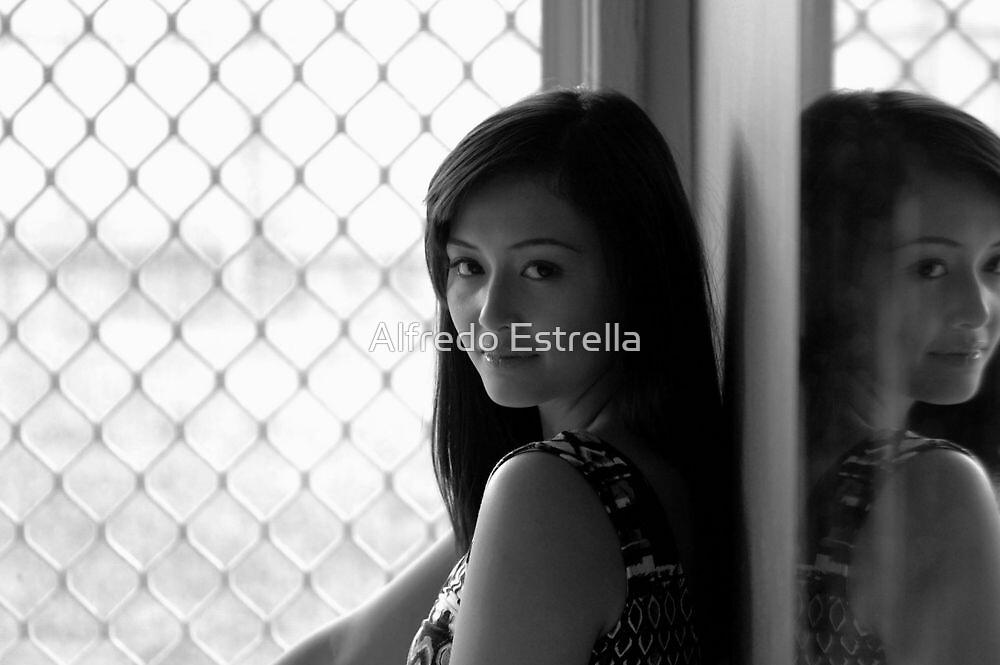 Eye to Eye by Alfredo Estrella