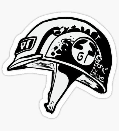 Full Genetic Infantryman (Black & White) Sticker