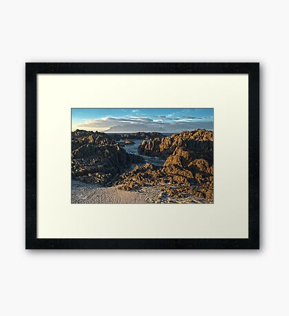 View Of Table Mountain Framed Print