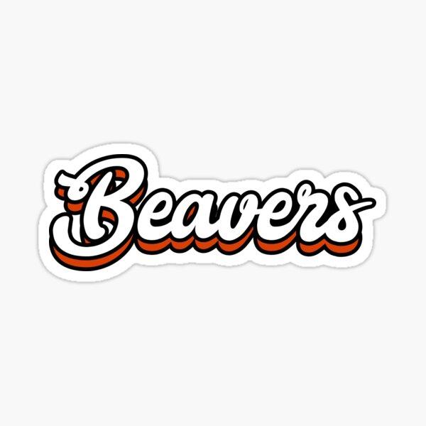 Beavers - Oregon State University Sticker